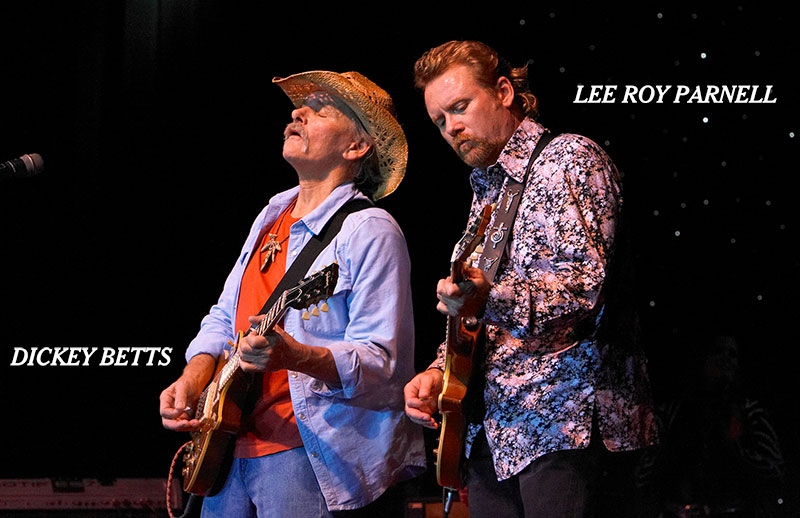 Lee Roy Parnell, Dickey Betts