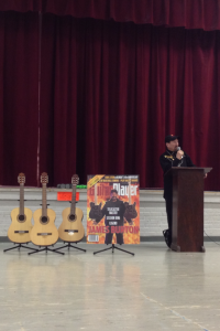 James Burton Foundation donating guitars in Natchitoches
